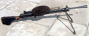 Degtyaryov machine gun - Image: Machine gun DP MON