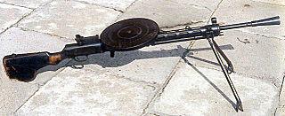 Degtyaryov machine gun Light machine gun