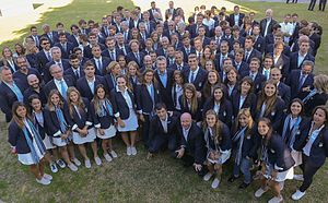Argentina at the 2016 Summer Olympics - President Mauricio Macri received the Argentine delegation at the Presidential Residence of Olivos after the Games