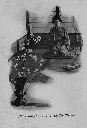 Madame Butterfly (short story) - Image: Madame Butterfly 1903 ill 1