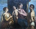 Madonna dell'Orto (Venice) - Left side of the nave - Mystic marriage of Saint Catherine of Alexandria - School of Titian.jpg