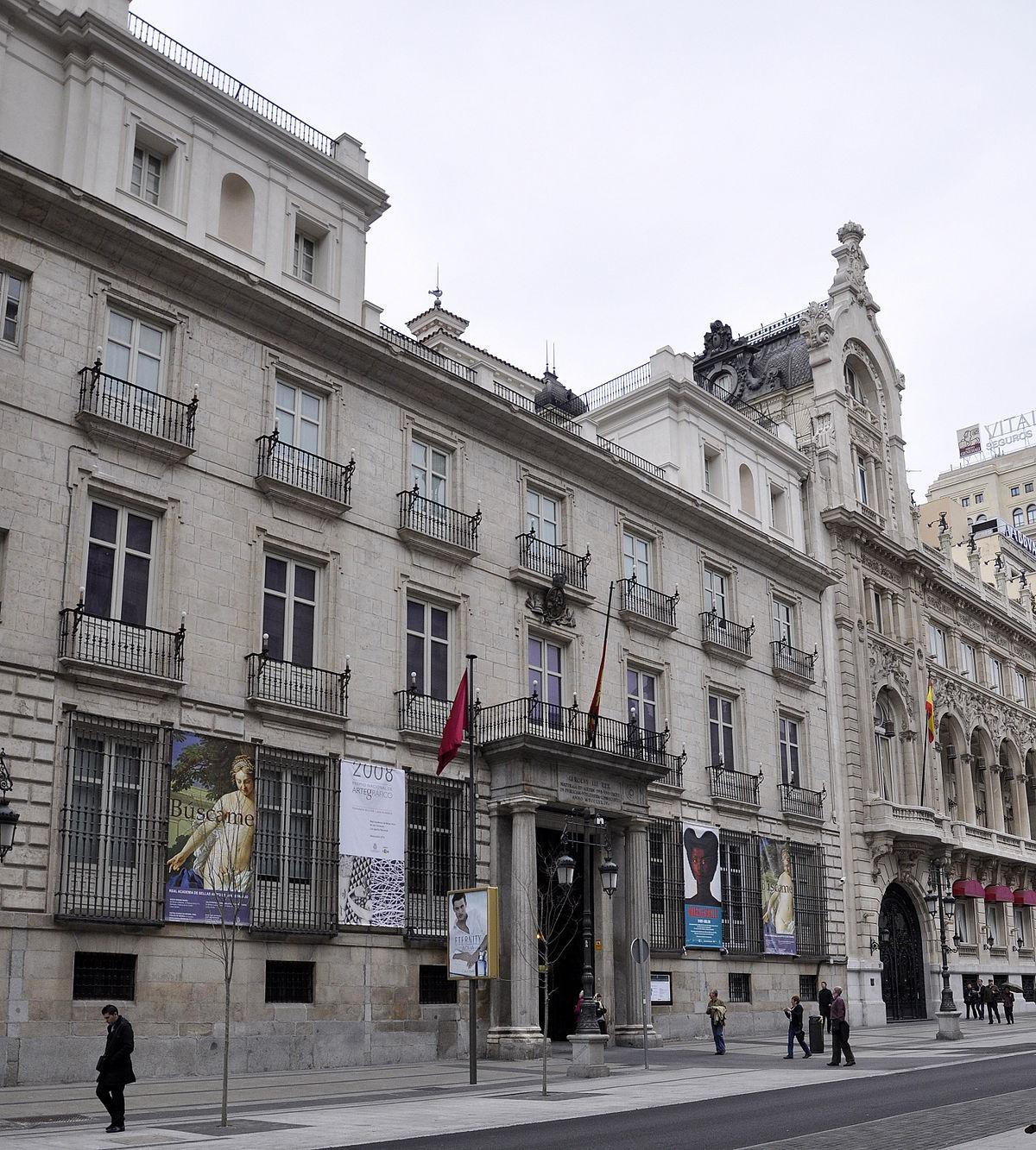 Real Academia de Bellas Artes de San Fernando - Wikipedia