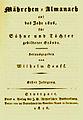 Maehrchen-Almanach auf das Jahr 1826 - Titelblatt der Erstausgabe.jpg