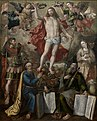 Maerten de Vos - Triptych of the Guild of the Old Crossbow - Christ Triomfator.jpg