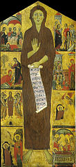 Penitent Magdalene with 8 scenes   from her life