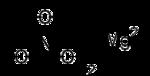 Struktur von Magnesiumnitrat