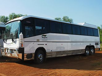 Denning (bus manufacturer) - Maguire Coaches Landseer in December 2012