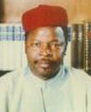 Mahamane Ousmane - Image: Mahamane Ousmane (cropped)