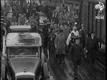 File:Mahatma Gandhi Arrives in the U.K. (1931) - British Pathé.webm
