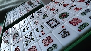 Mahjong - A set of Mahjong tiles.