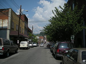 National Register of Historic Places listings in Harlan County, Kentucky - Image: Main Street North Harlan
