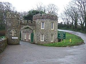 Caerhays Castle - The main gatehouse