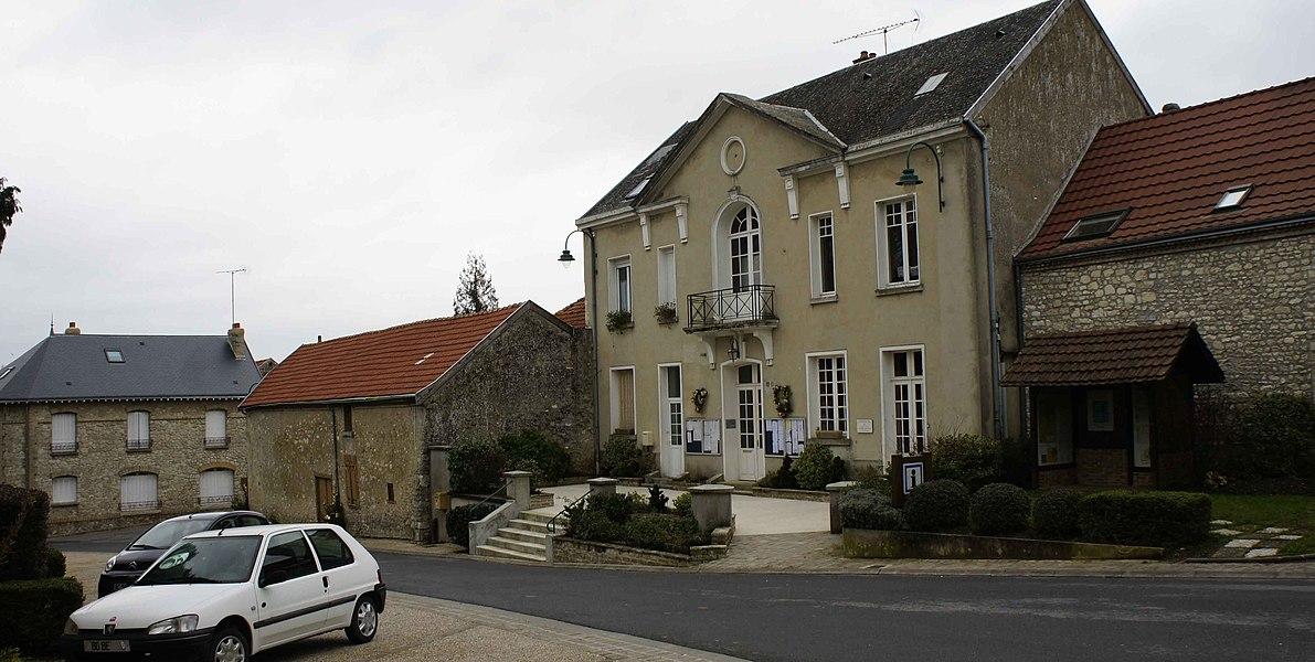 Mairie de Coulommes-la-Montagne.