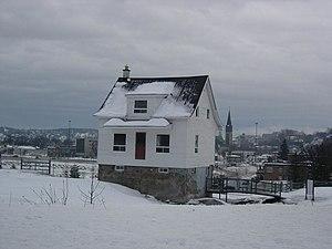 Saguenay flood - Image: Maison Blanche Saguenay