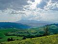 Male Pieniny – widok na Tatry – z pod Dubraszki.jpg