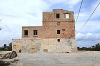 Malta - Mellieha - Triq ir-Ramla tat-Torri l-Abjad - Armier Tower 02 ies.jpg