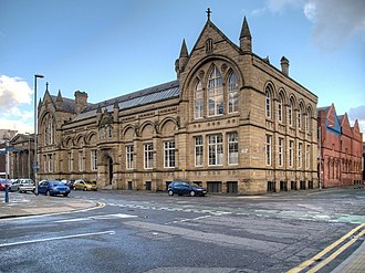Manchester School of Art - Image: Manchester School of Art Geograph 3735342