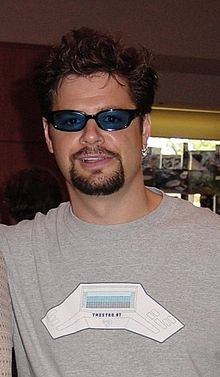 Mancow Muller at a Star Trek Convention. November 2, 2000.jpg