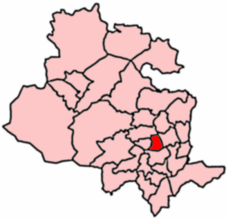 Manningham, Bradford - 2004 Boundaries of Manningham Ward.