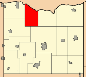 MapHighlightingTownOfClydeIowaCtWI.png