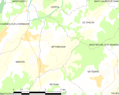 Map commune FR insee code 26014.png