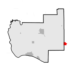 Map of Jersey County highlighting Brighton, Illinois.png