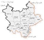 Map of Meknes Prefecture.png