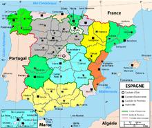 Administration territoriale de l'Espagne — Wikipédia
