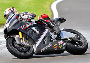 Marco Melandri - Melandri at the 2009 British Grand Prix.
