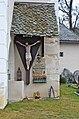 Maria Saal Possau Filialkirche Grabbaureliefs an der SW-Ecke 30122013 233.jpg