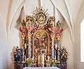 Maria Saal Sankt Michael Pfarrkirche hl Michael Hochaltar 18072015 5957.jpg