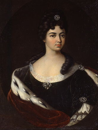 Maria Cantemir - Portrait by Ivan Nikitin