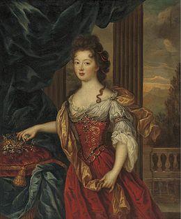 Marie th 233 r 232 se de bourbon princesse de conti par pierre mignard
