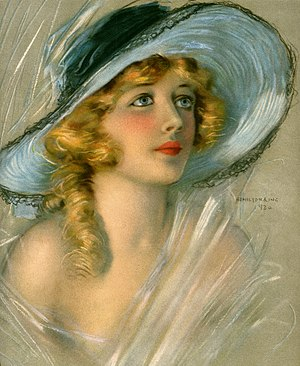 Marion Davies - Portrait of Davies for the June 1920 cover of Theatre Magazine