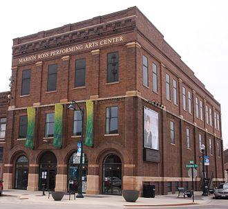 Marion Ross - The Marion Ross Performing Arts Center in Albert Lea, Minnesota