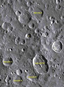 Mariotte sattelite craters map.jpg