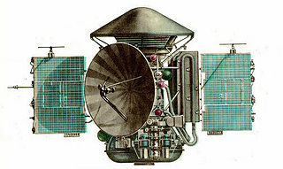 Mars 3 unmanned USSR spaceprobe