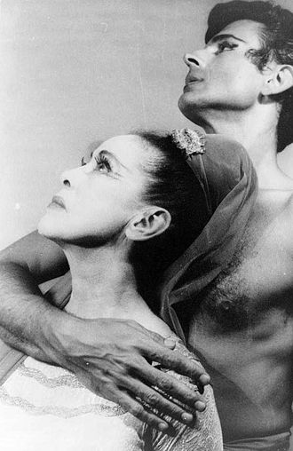 Martha Graham - Martha Graham with Bertram Ross (1961)