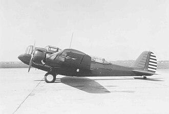 30th Bombardment Squadron - 19th Bombardment Group Martin B-12 at March Field, California