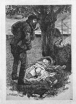 Representación de un caso de violación, de Martin Van Maele