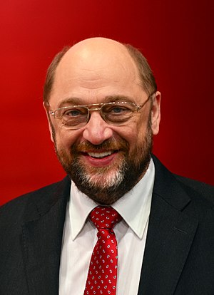 European Parliament election, 2014 (Germany) - Image: Martinus Schulz die 15 Novembris 2013