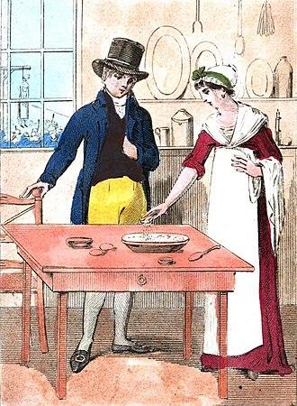 Mary Bateman - Mary Bateman mixing poison