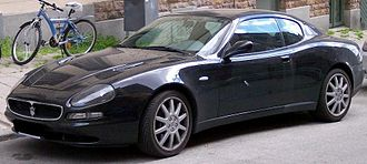Maserati 3200 GT - Image: Maserati Coupe vl blue