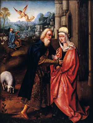 Władysław III of Poland - St. Joachim and St. Anne Meeting at the Golden Gate.
