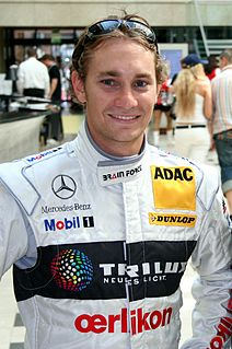 Mathias Lauda Austrian race car driver