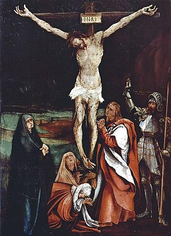 Распятие Маттиас Грюневальд, (1500—1508)