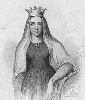 12th-century countess and queen consort of King Stephen of England