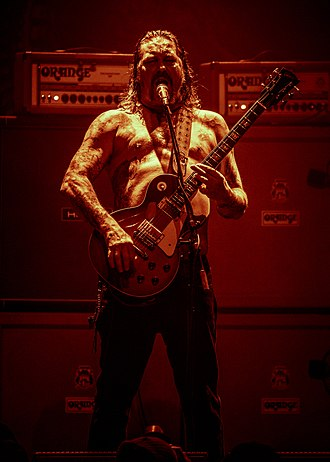 High on Fire - Matt live with High On Fire 2016