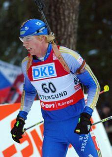Mattias Nilsson Swedish biathlete