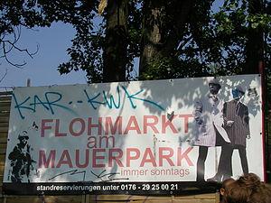 Mauerpark - Flea market of MauerPark